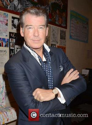 Pierce Brosnan Back At Work Days After Daughter's Death