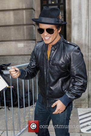 Bruno Mars Lands First U.s. Number One Album