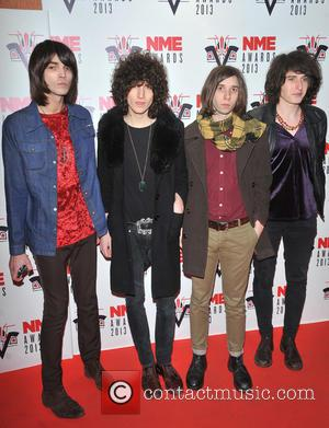 Temples - The 2013 NME Awards held at The Troxy - Arrivals - London, United Kingdom - Wednesday 27th February...