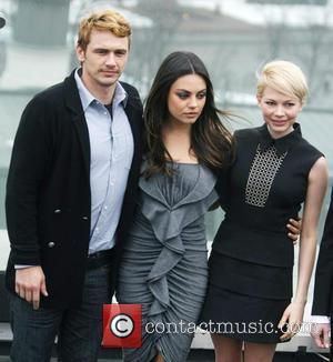 James Franco, Mila Kunis and Michelle Williams