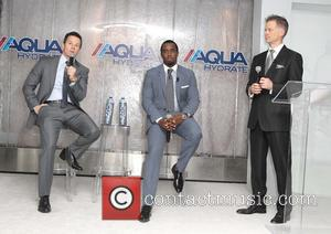 Mark Wahlberg, Sean Combs and John Cochran - Sean 'Diddy' Combs and Mark Wahlberg Host Press Conference To Announce Their...