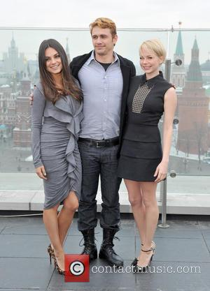 Mila Kunis, James Franco and Michelle Williams