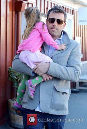 Ben Affleck - Ben Affleck And Daughter