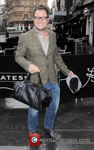 Alan Carr - Celebrities outside the Capital FM studios - London, United Kingdom - Friday 1st March 2013