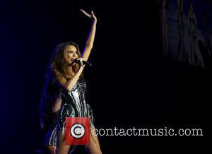 Girls Aloud and Nadine Coyle - Girls Aloud performing live in concert on their '10' tour at the O2 -...
