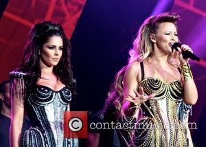 Girls Aloud, Cheryl Cole and Kimberley Walsh - Girls Aloud performing live in concert on their '10' tour at the...