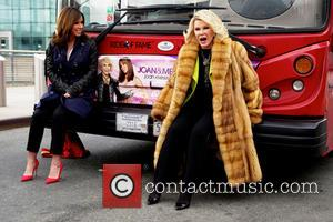 Joan Rivers - Gray Line New York inducts WE tv stars, Joan and Melissa Rivers, into its prestigious, Ride of...