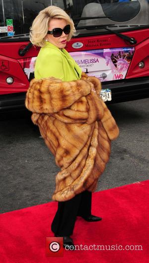 Joan Rivers - Gray Line New York inducts WE TV stars Joan and Melissa Rivers into its prestigious Ride of...