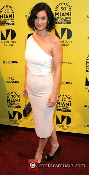 Carrie-Anne Moss - 30th Miami International Film Festival -  'The Boy Who Smells Like Fish' - Arrivals - Miami,...