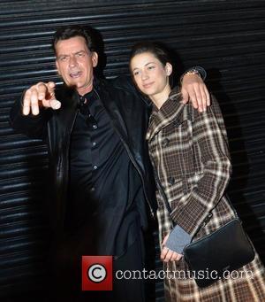 Charlie Sheen and Georgia Jones