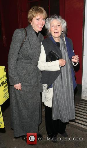 Emma Thompson - Emma Thompson Out And About In Soho