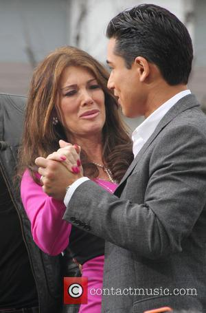 Lisa Vanderpump and Mario Lopez - Celebrities at The Grove to appear on entertainment news show 'Extra' - Los Angeles,...