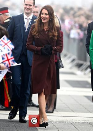 Catherine, Duchess of Cambridge and Kate Middleton - Catherine, Duchess of Cambridge arrives at Havelock Academy - Lincolnshire, United Kingdom...