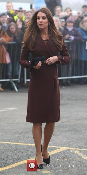 Catherine, Duchess of Cambridge and Kate Middleton - Catherine, Duchess of Cambridge leaving Grimsby Fishing Heritage Centre - Lincolnshire, United...
