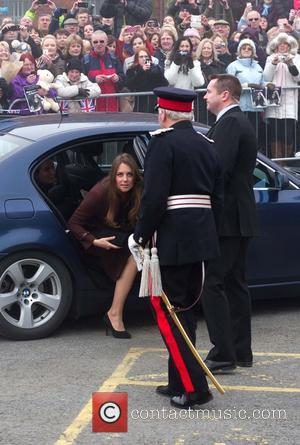 Catherine, Duchess of Cambridge and Kate Middleton - Catherine, Duchess of Cambridge arrives at Grimsby Fishing Heritage Centre - Grimsby,...