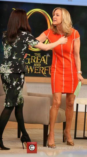 Lara Spencer and Rachel Weisz