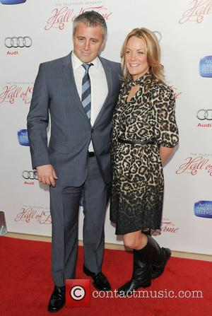 Matt LeBlanc and Melissa McKnight - The Academy of Television Arts & Sciences' 22nd Annual Hall of Fame Induction Gala...