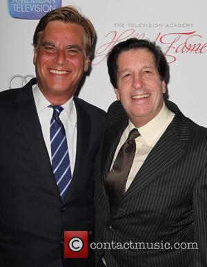Aaron Sorkin and Peter Roth