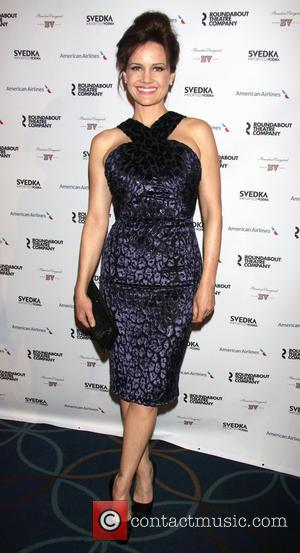 Carla Gugino - Roundabout Theatre Company's Spring Gala held at the Hammerstein Ballroom - New York City, NY, United States...