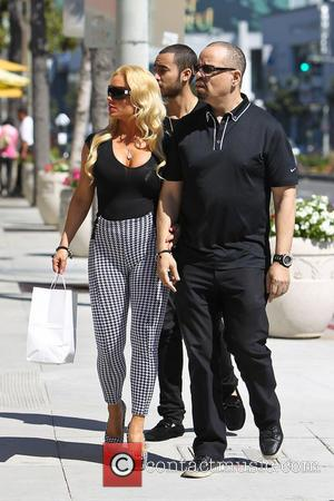 Coco Austin and Ice-T - Coco Austin with husband Ice-T out and about on Sunset Plaza - Los Angeles, California,...