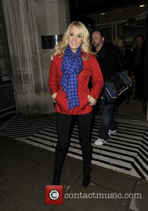 Carrie Underwood - Carrie Underwood leaving the BBC Radio 2 studios - London, United Kingdom - Wednesday 13th March 2013