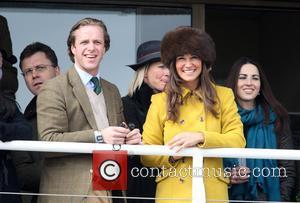 Pippa Middleton - Pippa Middleton attends Day Three of The Cheltenham Festival - Cheltenham, United Kingdom - Thursday 14th March...