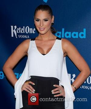 Carmen Carrera - 24th Annual GLAAD Media Awards held at New York Marriott Marquis - Arrivals - New York City,...