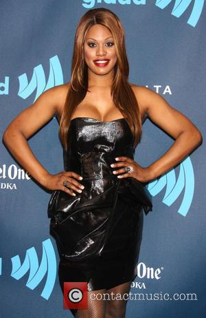 Laverne Cox - 24th Annual GLAAD Media Awards held at New York Marriott Marquis - Arrivals - New York City,...
