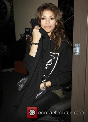 Zendaya - 'Dancing with the Stars' Season 16 - Backstage Gifting Suite held at CBS Studios - Los Angeles, California,...