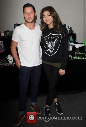 Val Chmerkovskiy and Zendaya - 'Dancing with the Stars' Season 16 - Backstage Gifting Suite held at CBS Studios -...