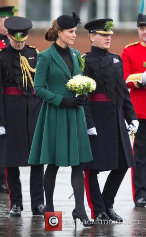 Duchess Of Cambridge Kate Middleton Tells Guardsman,
