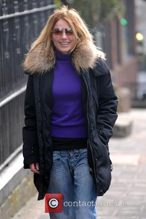 Geri Halliwell - Celebrities on the school run - London, United Kingdom - Monday 18th March 2013