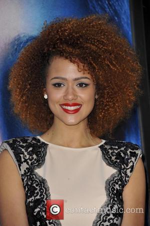 Nathalie Emmanuel - Premiere of the third season of HBO Series 'Game of Thrones' - Arrivals - Los Angeles, CA,...