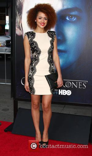 Nathalie Emmanuel - Premiere of the third season of HBO Series 'Game of Thrones' - Arrivals - Los Angeles, California,...