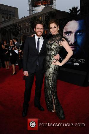 Richard Madden and Esme Bianco - Premiere of the third season of HBO Series 'Game of Thrones' - Arrivals -...