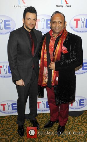 Deepak Kuntawala and Peter Andre