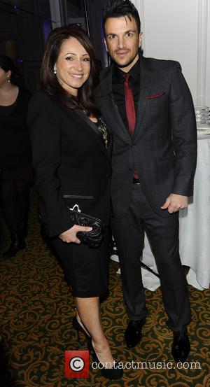 Jacqueline Gold and Peter Andre