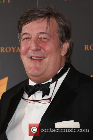 Stephen Fry - RTS Programme Awards 2014 held at Grosvenor House Hotel - Arrivals - London, United Kingdom - Monday...