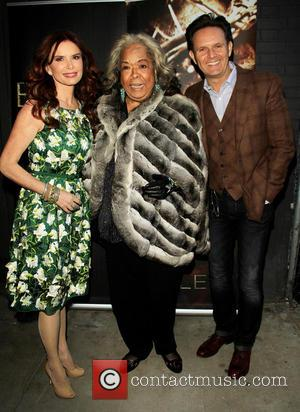 Roma Downey, Della Reese and Mark Burnett - 'The Bible Experience' Opening Night Gala at The Bible Experience - New...