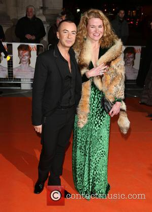 Julien MacDonald and Guest - David Bowie Is Private View - exhibition gala night held at the Victoria and Albert...
