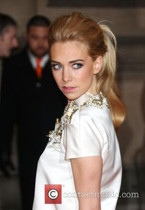 Vanessa Kirby - David Bowie Is Private View - exhibition gala night held at the Victoria and Albert Museum...