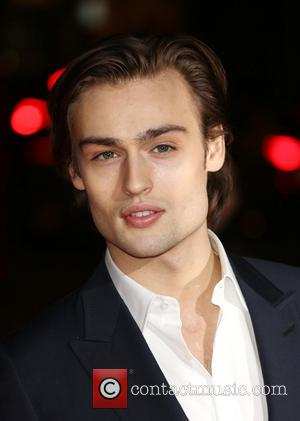 Douglas Booth - David Bowie exhibition gala night held at the Victoria and Albert Museum - Arrivals - London, United...