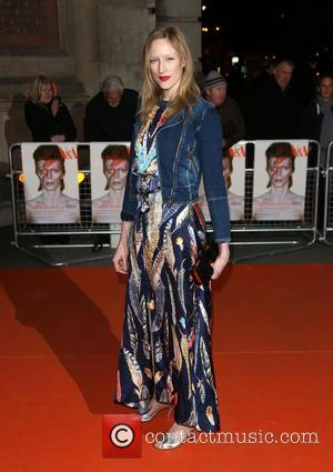 Jade Parfitt - David Bowie exhibition gala night held at the Victoria and Albert Museum - Arrivals - London, United...