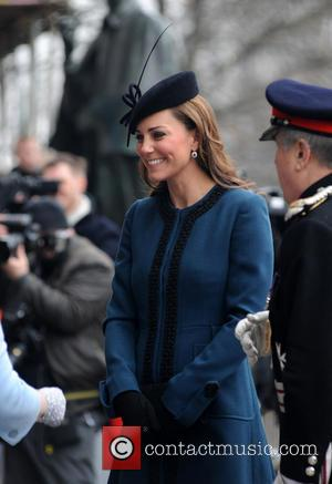 Kate Middleton, Catherine and Duchess of Cambridge - Members of the Royal Family visit Baker Street tube station to mark...
