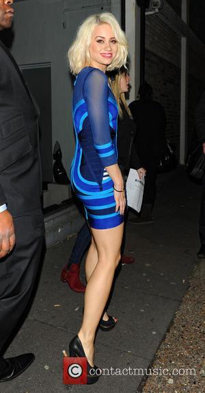 Kimberly Wyatt - Celebrities leave Riverside Studios after filming 'Celebrity Juice' - London, United Kingdom - Wednesday 20th March 2013