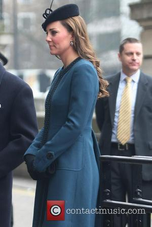 Catherine, Duchess of Cambridge and Kate Middleton - Members of the Royal Family visit Baker Street tube station to mark...