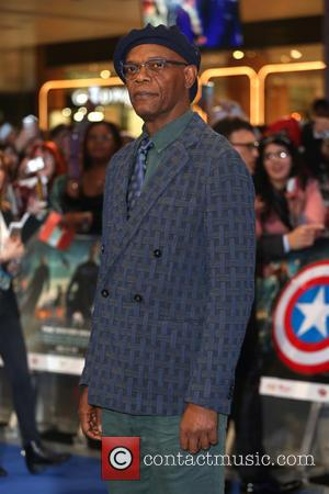 Samuel L. Jackson - Captain America: The Winter Soldier - UK film premiere held at Westfield - Arrivals - London,...