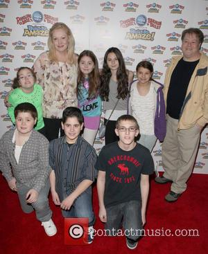 Cathy Moriarty and And Family
