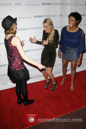 Joey King, Kristin Chenoweth and Lisa Lauren Smith - New York special screening of 'Family Weekend' - Arrivals - New...