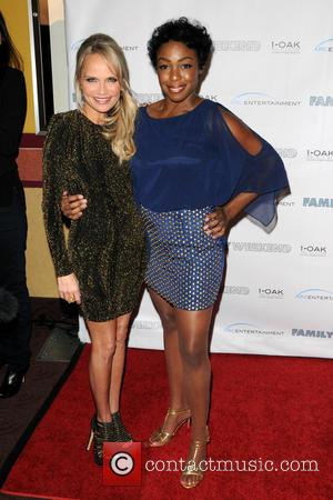 Kristin Chenoweth and Lisa Lauren Smith - New York special screening of 'Family Weekend' - Arrivals - New York, United...